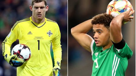Norwich City duo Michael McGovern and Jamal Lewis have been called-up to the latest Northern Ireland
