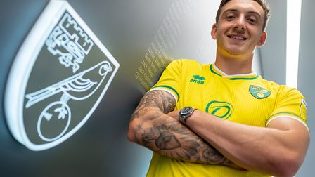 Jordan Hugill has joined Norwich City from West Ham Picture: Norwich City FC