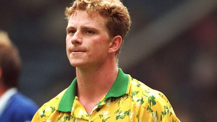 Mark Robins was a different type of number nine. Credit: Action ImagesFILM