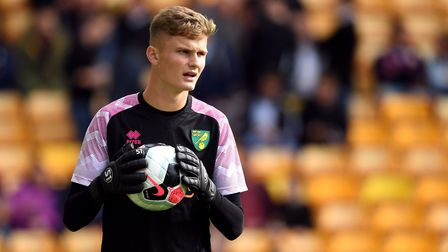 Norwich City goalkeeper Archie Mair Picture: PA