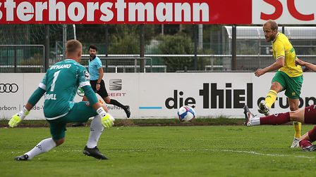 Teemu Pukki opened the scoring for Norwich City in their latest pre-season friendy against Dynamo Dr