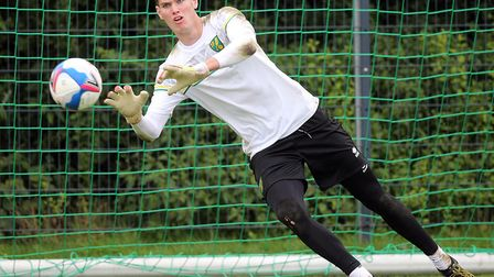 Young keeper Daniel Barden will get a big early chance in Norwich City's first team Picture: Paul Ch