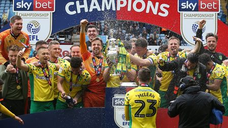 Norwich City won the Championship title with 94 points in 2019 Picture: Paul Chesterton/Focus Images