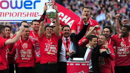Norwich legend Malky Mackay led Cardiff to the Championship title on just 87 points in 2013 Picture: