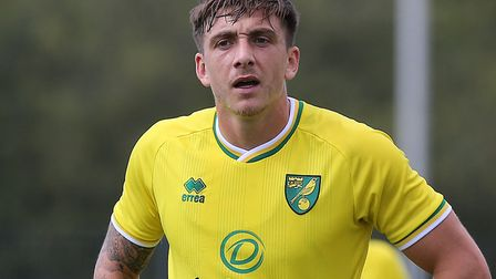 Jordan Hugill is set to lead the line for Norwich at Luton Picture: Paul Chesterton/Focus Images