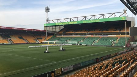 Fans could soon return to Carrow Road, with a reduced maximum capacity of 8,000 for Norwich City gam