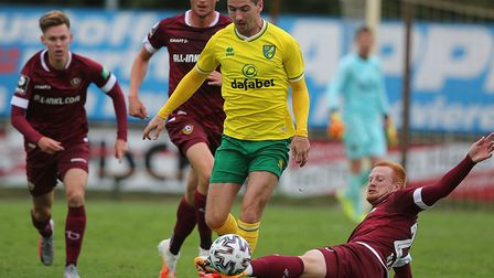 Norwich City have given midfielder Kenny McLean, pictured in pre-season action in Germany last week,