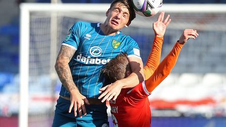 Hugill struggled to make an impact in his competitive City debut. Picture: Paul Chesterton/Focus Ima