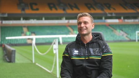 Ben Gibson is keen to hit the ground running with Norwich City. Picture: Tony Thrussell/Archant