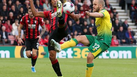 Norwich City's trip to AFC Bournemouth has been selected for television. Picture: Paul Chesterton/Fo
