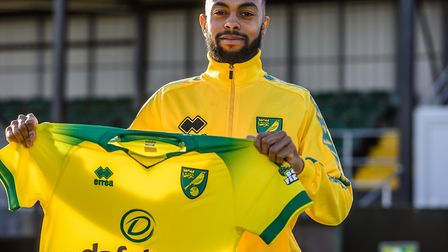 January signing Melvin Sitti was in action for Norwich City U23s against Ipswich Picture: Norwich Ci