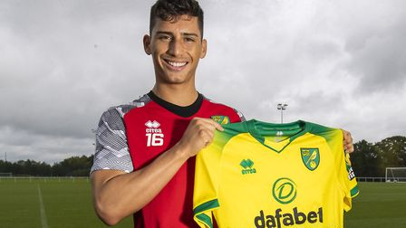 Norwich City new signing Sebastian Soto is hoping to catch the eye during his loan spell at Telstar.