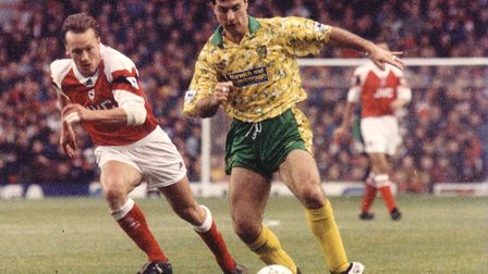 Mark Bowen made 399 appearances for Norwich between 1987 and 1996 Picture: Archant library
