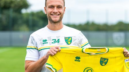 Norwich City's new loan signing Ben Gibson has joined from Burnley Picture: Norwich City FC