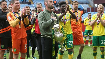 Ivo Pinto was part of the squad which won the Championship title in 2019 before his time at Norwich