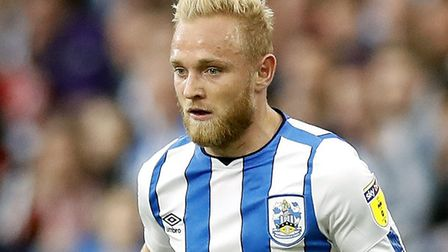 Former Norwich City midfielder Alex Pritchard has captained Huddersfield during pre-season Picture: