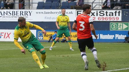 City beat Luton Town 5-1 in a friendly last season, with Josip Drmic converting a hat-trick. Picture