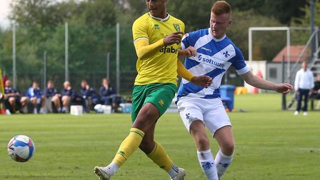 Adam Idah joined up with Ireland after Norwich City's pre-season concluded in Germany at the weekend