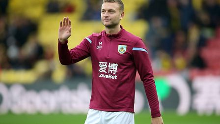 Ben Gibson has said goodbye to Burnley in exchange for life in Norfolk Picture: PA