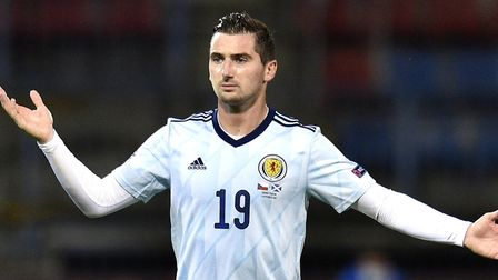 Norwich City midfielder Kenny McLean played the full game as Scotland won 2-1 in the Czech Republic