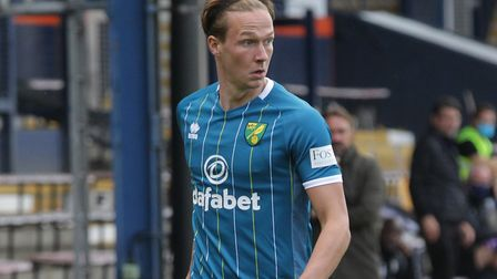Dowell opened his Canaries account against Luton Town last weekend. Picture: Paul Chesterton/Focus I