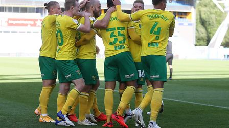 Norwich City have broken their 12-game losing streak with a win over Huddersfield Town. Picture: Pau