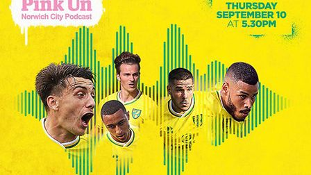 The Pinkun.com Norwich City Podcast is hosting a live event online on Thursday, September 10