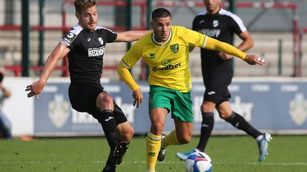 Emi Buendia has been described by Norwich City fans as one of the 'crown jewels'. Picture: Paul Ches