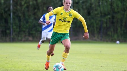 Todd Cantwell of Norwich in action during the Pre-season friendly match at Hotel-Residence Klosterpf