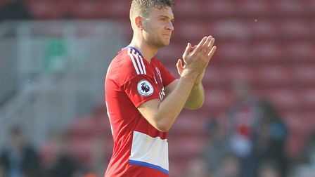 Ben Gibson admits a move back to boyhood club would have been the easy option. Picture: Richard Sell