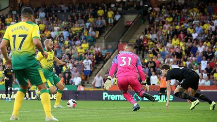 Teemu Pukki scored City's third goal on the day. Picture: Paul Chesterton/Focus Images Ltd