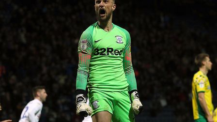 Declan Rudd saved a penalty the last time Preston faced Norwich, with North End winning 3-1 at Deepd