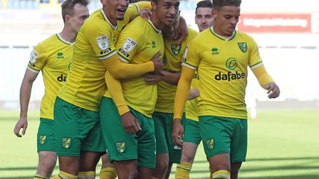 Adam Idah sealed Norwich City's 1-0 opening day Championship win over Huddersfield Picture: Paul Che