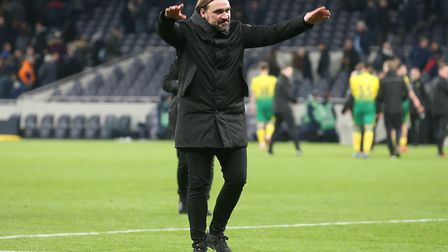 City boss Daniel Farke has spoken about how much his team miss the backing of the fans. Picture: Pa