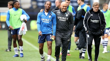 Daniel Johnson (left) has been linked with a move away from Deepdale. Picture: Martin Rickett/PA Ima
