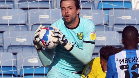 Tim Krul kept a clean sheet as Norwich City won their Championship opener at Huddersfield Picture: P