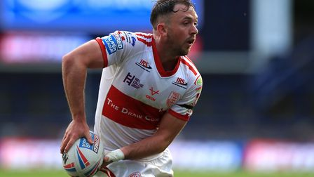 Hull KR's Ryan Brierley is in the hotseat for this week's opposition view. Picture: Mike Egerton/PA