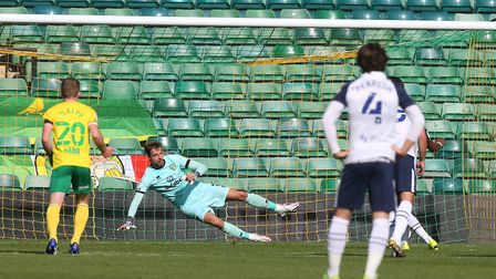Scott Sinclair rolled in Preston's opener from the spot. Picture: Paul Chesterton/Focus Images Ltd