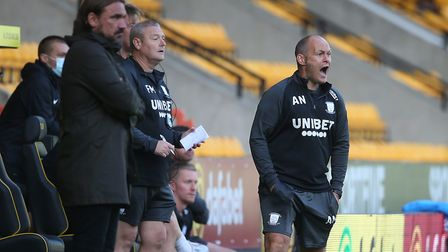 Alex Neil's side disrupted the press in the first-half. Picture: Paul Chesterton/Focus Images Ltd