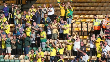 A sight to behold - City fans back at Carrow Road. Picture: Paul Chesterton/Focus Images Ltd