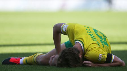Norwich midfielder Kieran Dowell has had to have surgery on an ankle injury Picture: Paul Chesterton