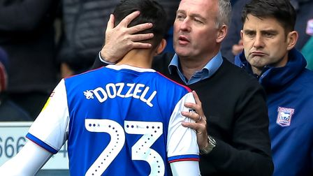 Andre Dozzell has been a regular started for Ipswich boss Paul Lambert so far this season Picture: S