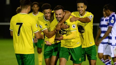 Josip Drmic made his return for Norwich City Under-23s last week. Picture: Norwich City FC