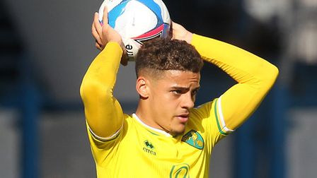 Max Aarons played all of Norwich City's 2-2 home draw with Preston Picture: by Paul Chesterton/Focus