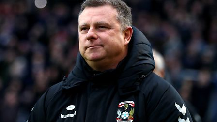 Former Norwich City striker Mark Robins is at the helm of Coventry City's rebuild. Picture: PA Image