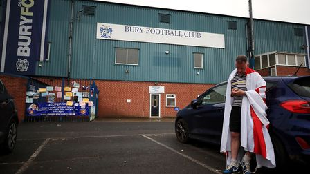 Bury FC supporters lost their football club last year. Picture: Peter Byrne/PA Images