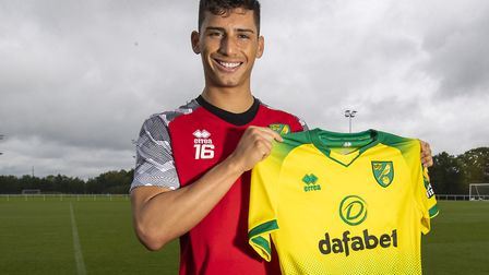 Soto signed for Norwich City in the summer. Picture: Norwich City FC