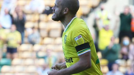 Teemu Pukki scored his first goal of the season as City drew 2-2 with Preston Picture: Paul Chestert