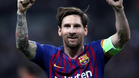Barcelona have managed to keep Lionel Messi - for now. Picture: PA
