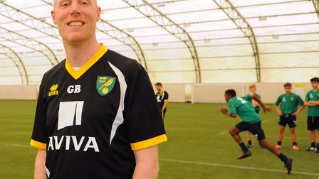 Greg Broughton spend three years helping shape Norwich City's academy Picture: Denise Bradley